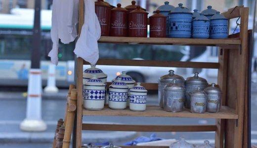 週末のパリ歩きにおすすめ!ヴァンヴ蚤の市(Marché aux puces Vanves)でアンティーク雑貨を探そう