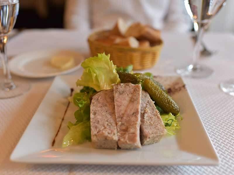 Le Petit Chatletでランチ(前菜)