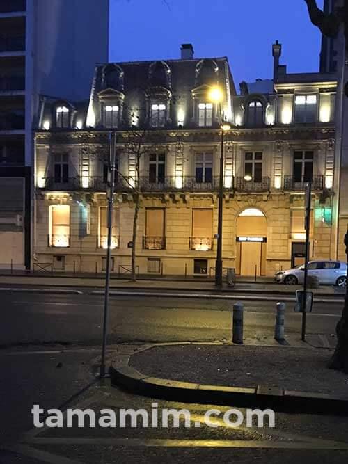 パリでジレジョーヌによるデモ対策