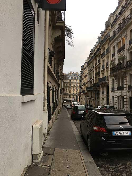 Hotel Mercure Paris Champs Elyséesの周辺ポール・ヴァレリー通り