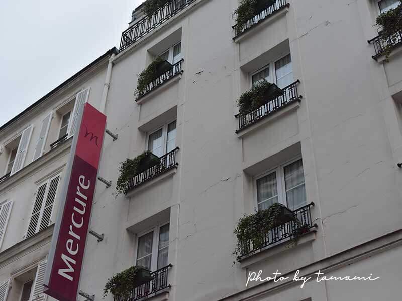 Hotel Mercure Paris Champs Elysées外観
