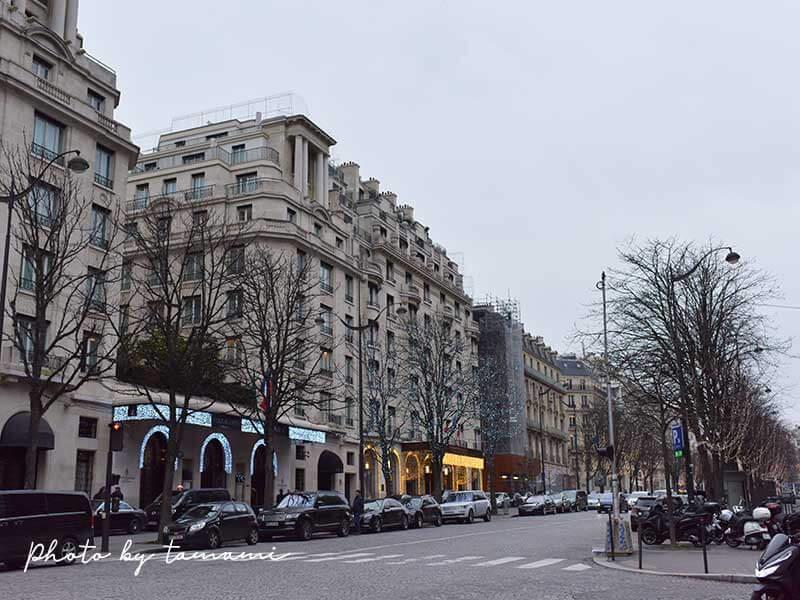 パリオペラ座付近