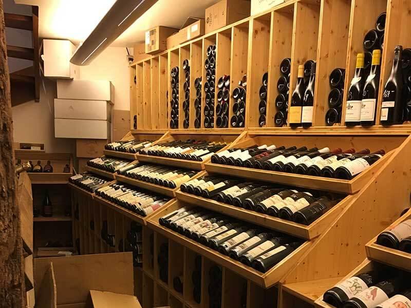 コルマール地下のワインセラー