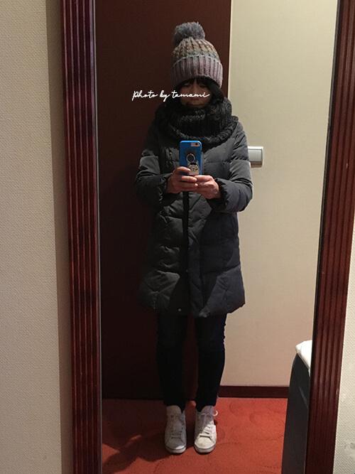 アルザス地方に着ていく服装(冬)