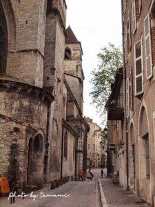 カオールの旧市街