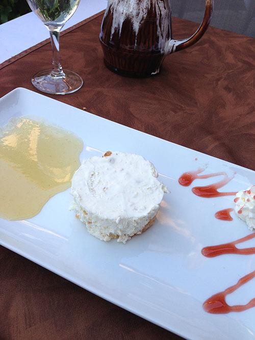 L'auberge du vieux Cahorsのデザート