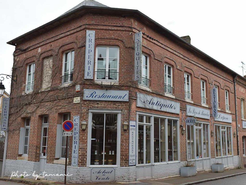 リヨンラフォレで宿泊したホテルLes Lions De Beauclerc