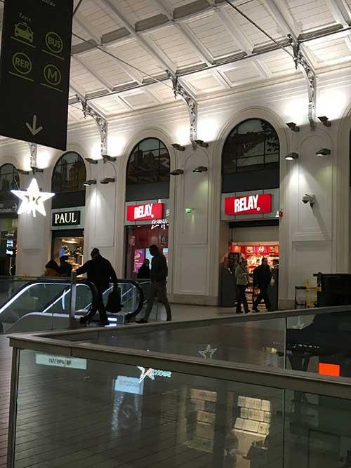 パリ・Saint-Lazare駅