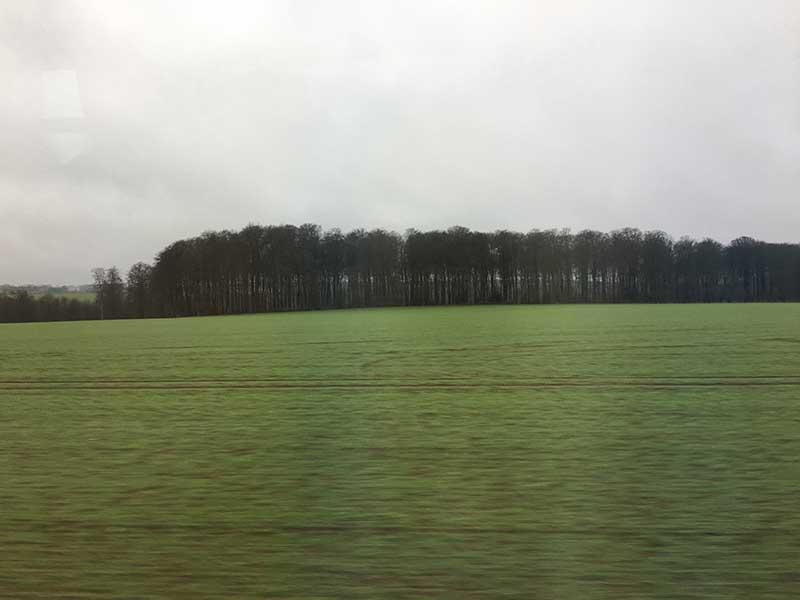 ノルマンディーの風景