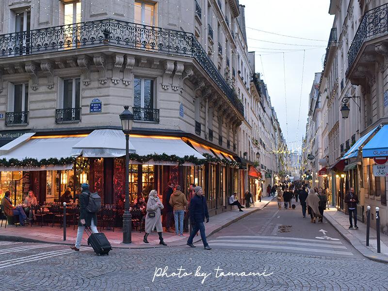 パリのサンルイ島