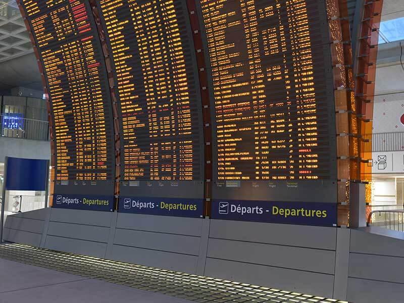 パリ・CDG(シャルル・ド・ゴール)空港