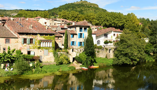 【トゥールーズを拠点にレンタカーで行く可愛い村】まるで絵本の世界そのもの Saint-Antonin-Noble-Val