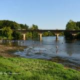 リムイユの村の目の前にあるドルドーニュ川