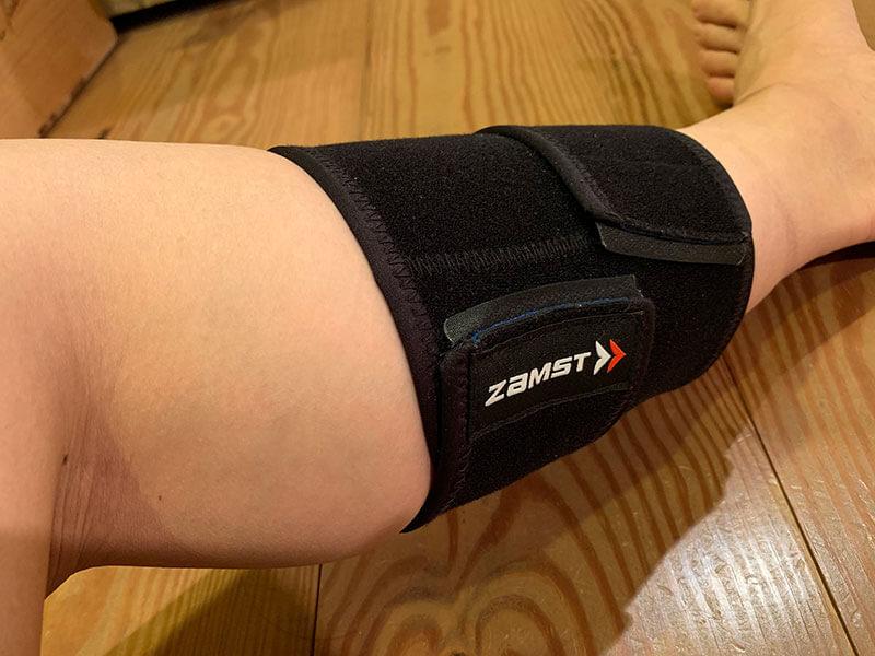 ザムストふくらはぎ用サポーター両足兼用