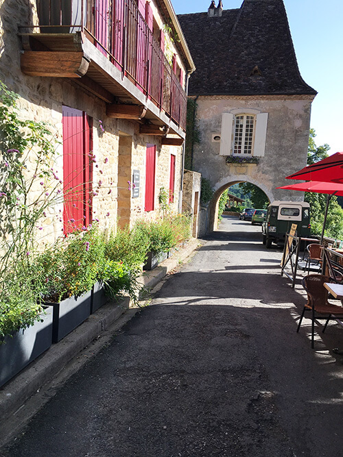 フランス南西部の美しい村リムイユ
