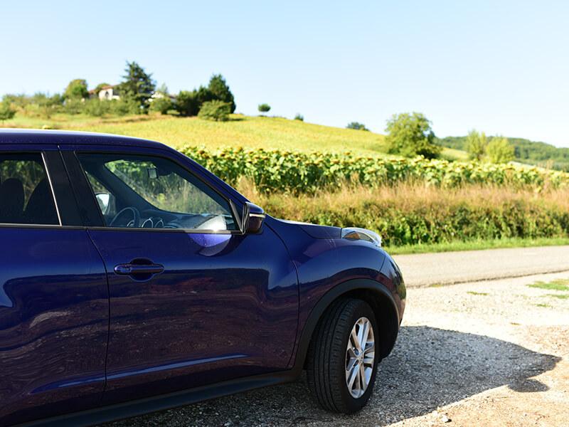 フランス南西部をレンタカーでまわる