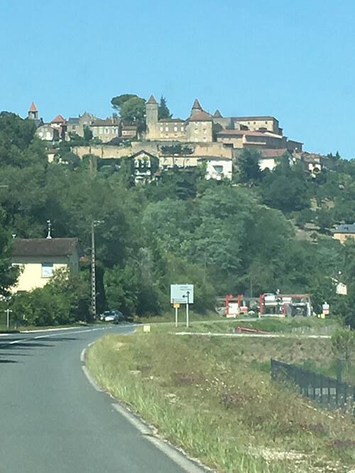 フランス南西部をドライブ