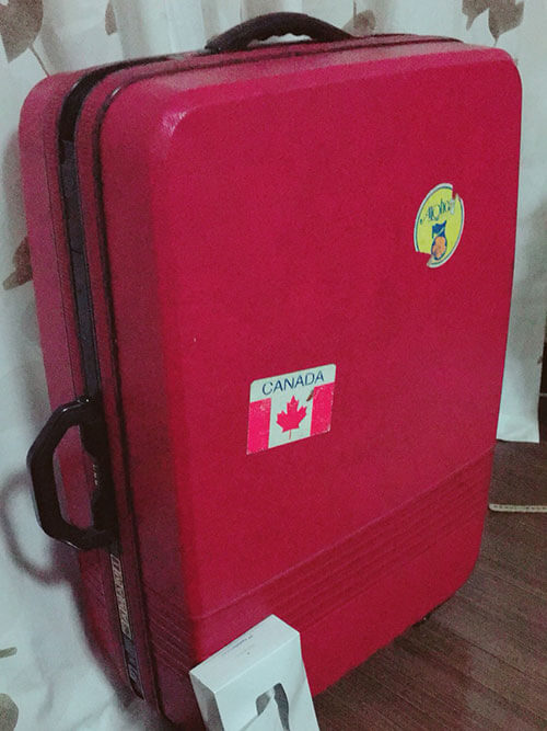 スーツケース(H80cmxW50cmxD23cm)