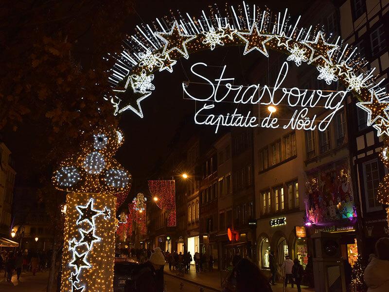 ストラスブールのクリスマスマーケット