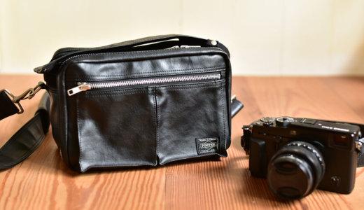 【レビュー】ポーター(porter)フリースタイル(FREE STYLE)カメラバッグはカメラの保護にも最適で持っていて嬉しくなるバッグ