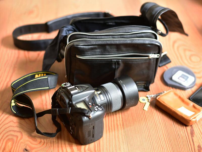 ポーターのカメラバッグ