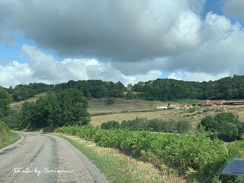フランスのシャンブルドットは田舎に多い