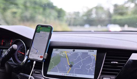 ヨーロッパ(フランス)旅行でレンタカーを借りるときにiPhoneをナビとして活用する!必要なこと&持っていると便利なものを実録から紹介