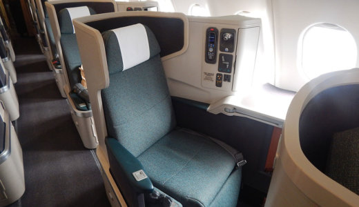 マイレージを使ってデルタ航空ビジネスクラスへアップグレードする方法を実例から紹介!