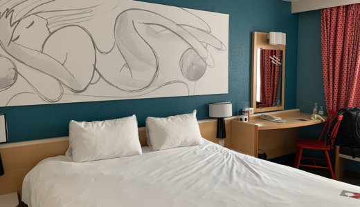 【Hotel ibis Reims Centre】はランス駅前にあり観光や食事にも便利な立地にある!遅い時間の到着でも安心できるおすすめのホテル。