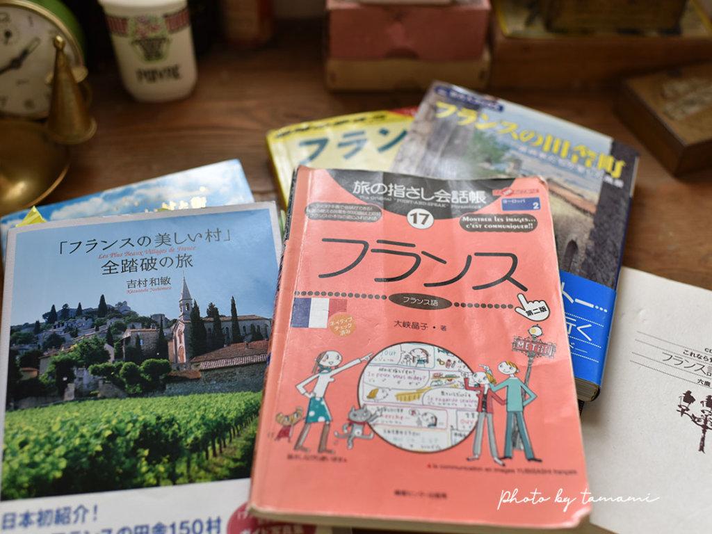フランスのガイドブック