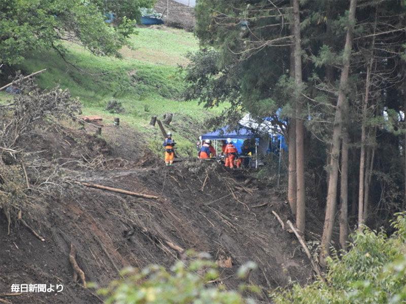 2019年10月14日台風19号による被害
