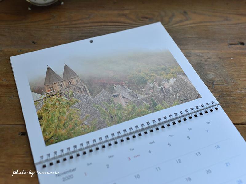 Mybook LIFEで作るウォールカレンダー