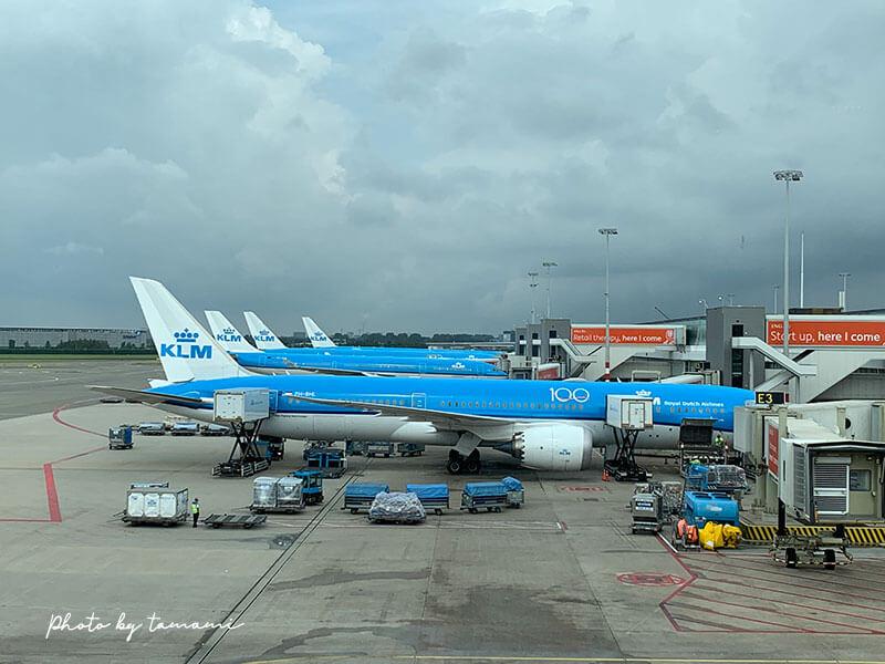 KLMオランダ航空搭乗記