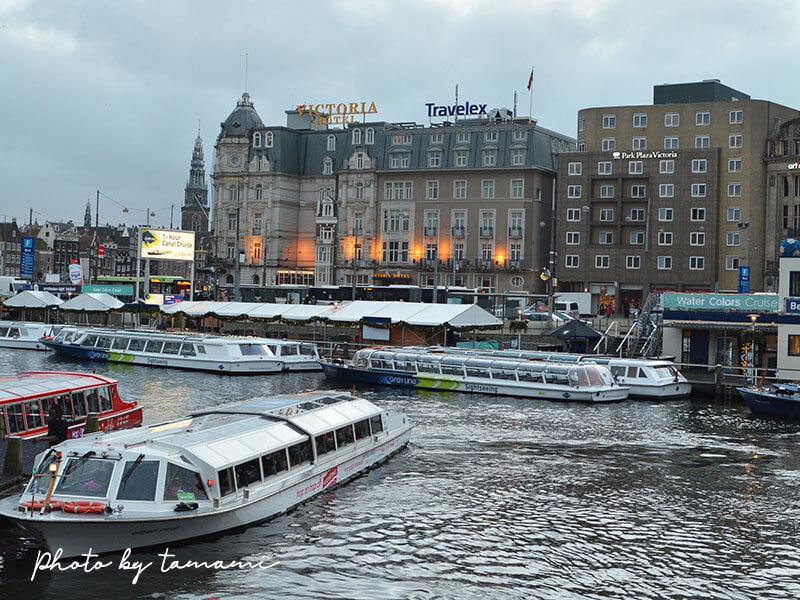 アムステルダム市内観光