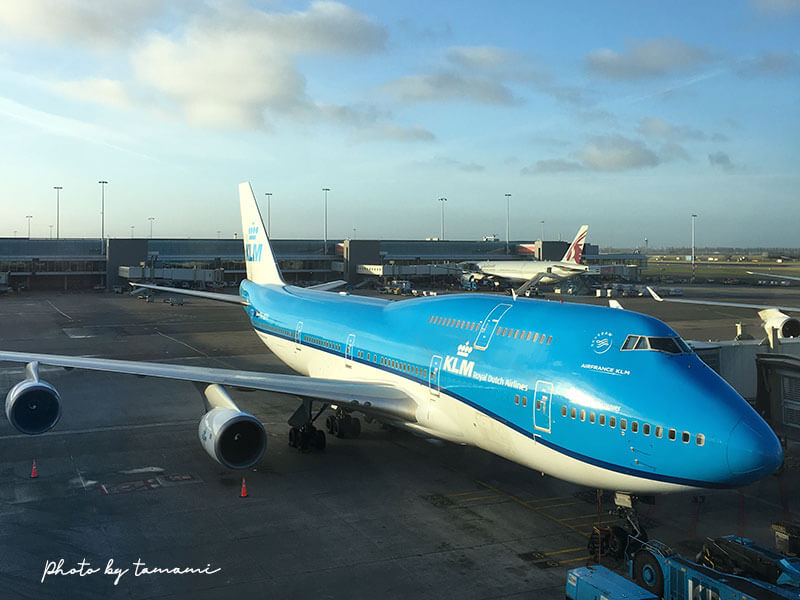 KLMオランダ航空が保有するBoeing 747便