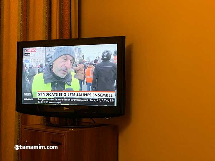 フランス(パリ)のストライキ