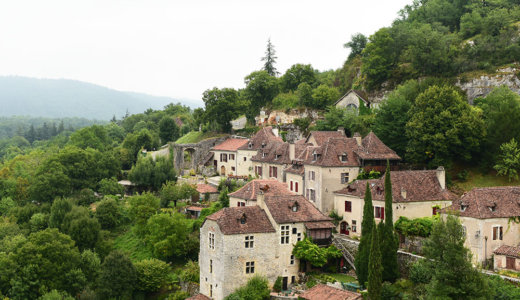 フランス南西部にある【フランスの美しい村(Les Plus Beaux Villages de France)】