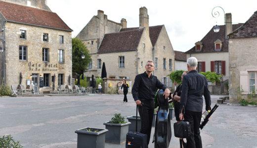 ブルゴーニュ地方の美しい村【ヴェズレー(Vezelay)】はマグダラのマリアに由来する巡礼の出発点  *最寄駅までは約10km