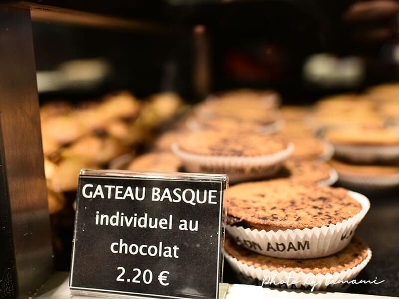 ガトー・バスクのパティスリー Maison ADAM