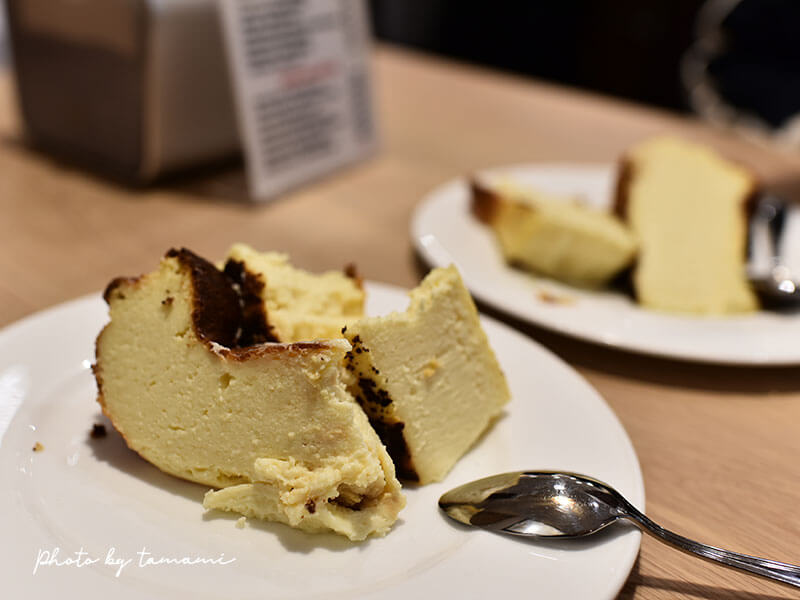 サン・セバスチャンのバスクチーズケーキ La Vina