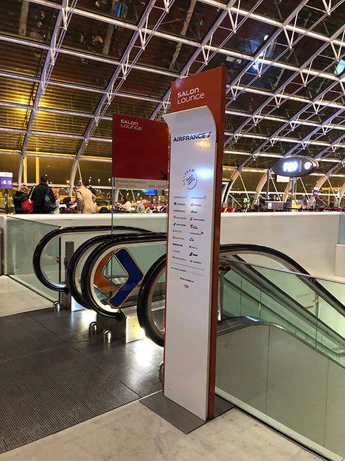 シャルル・ド・ゴール空港のターミナル2F