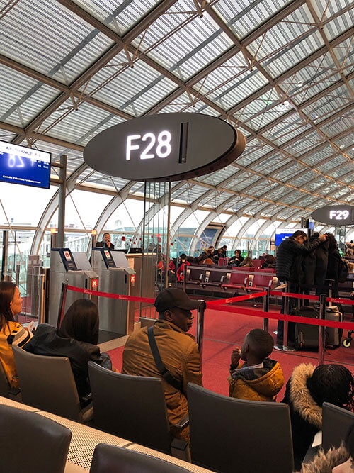 シャルル・ド・ゴール空港ターミナル2F