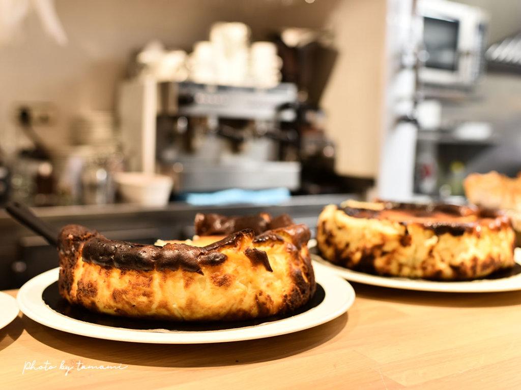 スペインのバスクチーズケーキ