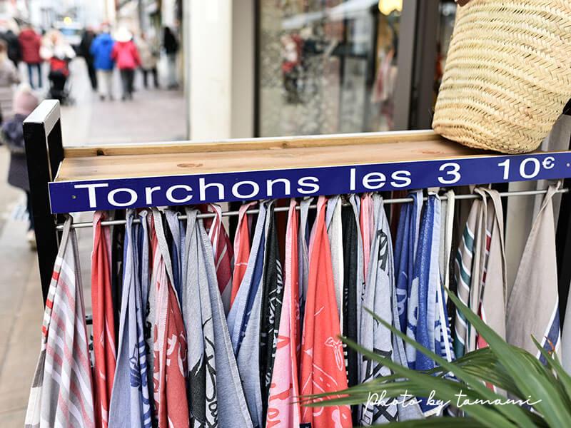 サン=ジャン=ド=リュズにあるバスクリネンのお店