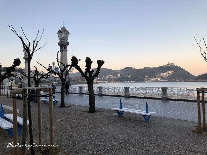 スペインのバスク地方 サン・セバスチャン