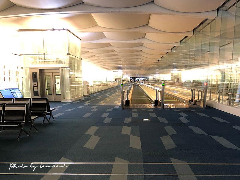 羽田空港国際線 コロナウィルスによる影響