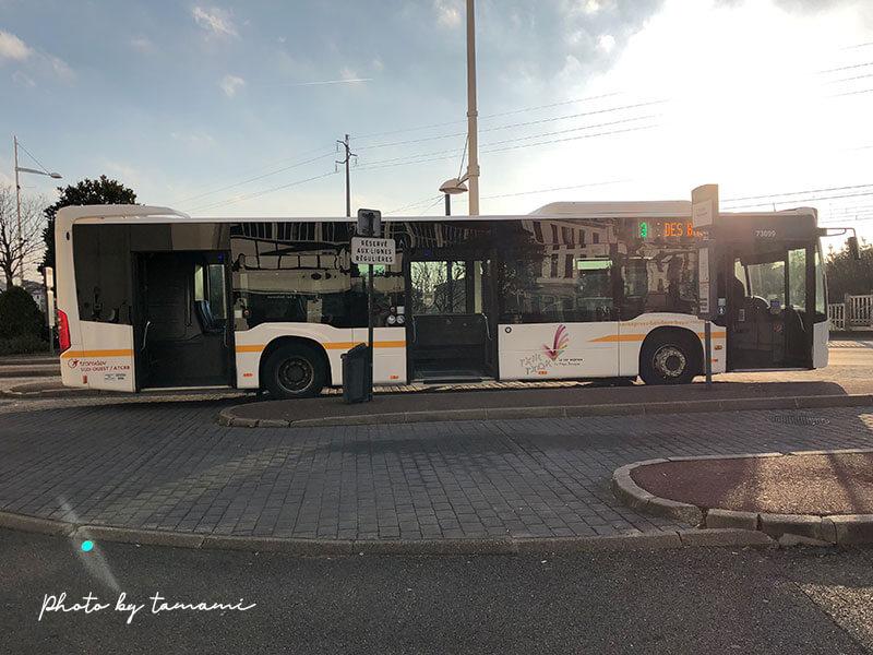 フランスのバスク地方の移動は3番バスが便利
