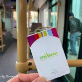 ビアリッツ市内へ行くT1バス乗り場(バイヨンヌ)