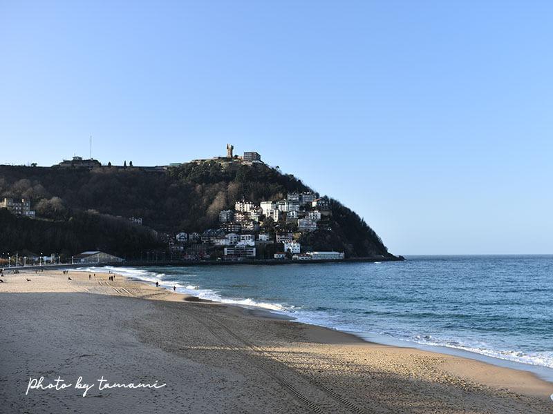 サン・セバスチャンの海岸