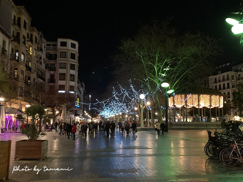 サン・セバスチャンの町歩き
